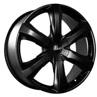 DOLCE WHEELS  DC34 MATTE BLACK WHEEL