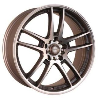 NINJA WHEELS  NJ02 BRONZE RIM