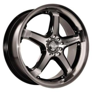 KATANA WHEELS  CR5 MACHINED/BLACK RIM