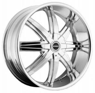 MAGIA CHROME RIM from STRADA WHEELS