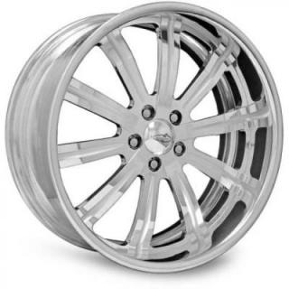 INTRO WHEELS  G CUBE POLISHED RIM