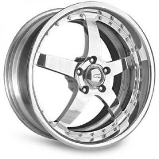 INTRO WHEELS  GT SPORT POLISHED RIM