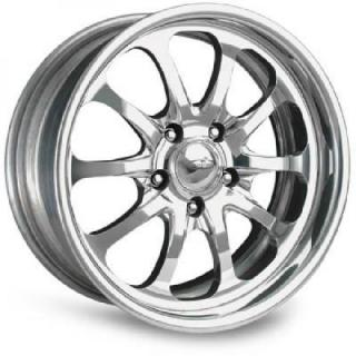 INTRO WHEELS  MALIBU POLISHED RIM