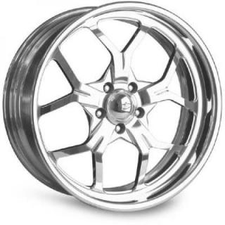 MULHULLAND POLISHED RIM by INTRO WHEELS