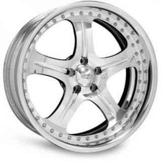 INTRO WHEELS  PHANTOM POLISHED RIM