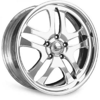 INTRO WHEELS  PROWLER POLISHED RIM