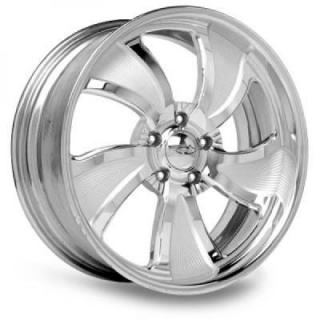 INTRO WHEELS  TWISTED MATRIX POLISHED RIM