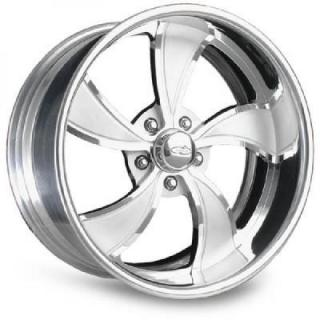 INTRO WHEELS  TWISTED VISTA POLISHED RIM