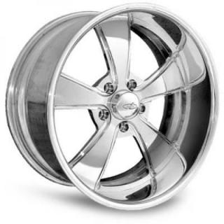 INTRO WHEELS  V-ROD POLISHED RIM with FLUTED SPOKES
