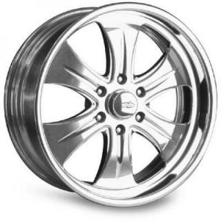 INTRO WHEELS  HAMMER 6 POLISHED RIM