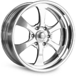 INTRO WHEELS  PENTIA 6 POLISHED RIM