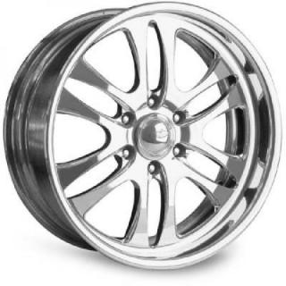 INTRO WHEELS  PROWLER 6 POLISHED RIM