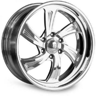 INTRO WHEELS  RADICALLI 6 POLISHED RIM