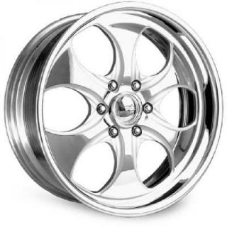 INTRO WHEELS  SCORPION POLISHED RIM