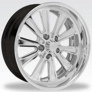 INTRO WHEELS  DAYTONA POLISHED RIM
