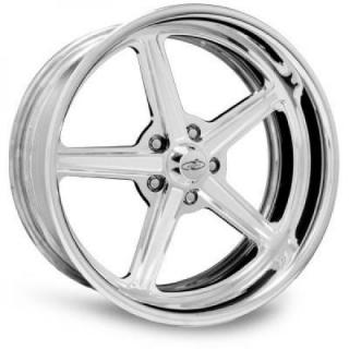 INTRO WHEELS  HAULER POLISHED RIM