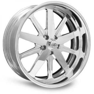 INTRO WHEELS  MAGNUM POLISHED RIM