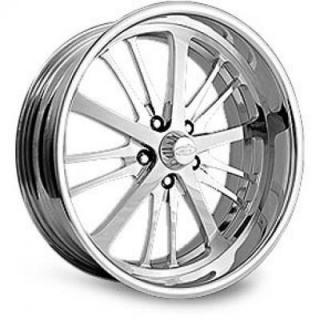 INTRO WHEELS  RAIDER POLISHED RIM
