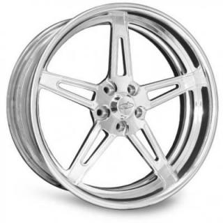 INTRO WHEELS  TORINO POLISHED RIM