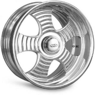 INTRO WHEELS  RIPPLE 5 POLISHED RIM