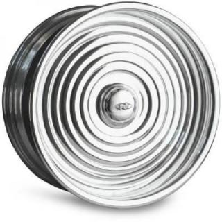INTRO WHEELS  RIPPLE POLISHED RIM