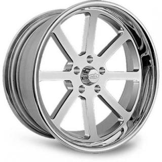 INTRO WHEELS  BULLET POLISHED RIM