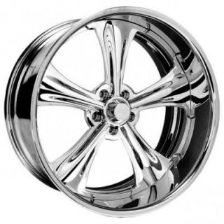 INTRO WHEELS  AURORA POLISHED RIM