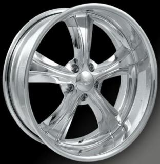INTRO WHEELS  KINGMAN POLISHED RIM