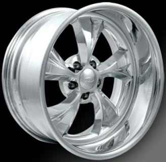 INTRO WHEELS  SANTA FE POLISHED RIM
