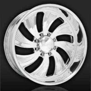 INTRO WHEELS  HD8 RADICALLI POLISHED RIM