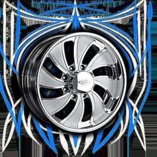 INTRO WHEELS  HD8 TWISTED VISTA POLISHED RIM