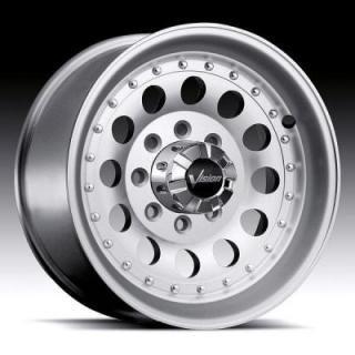 VISION WHEELS  MOJAVE 71 HEAVY DUTY MACHINED RIM with CLEAR COAT