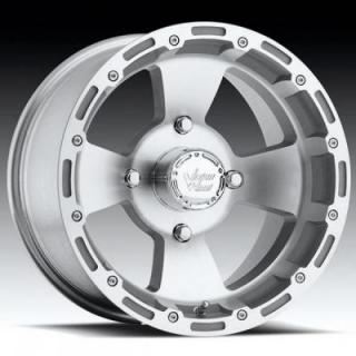 VISION WHEELS  BRUISER 161 ATV MACHINED/CLEAR RIM
