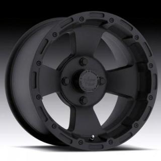 VISION WHEELS  BRUISER 161 ATV MATTE BLACK RIM