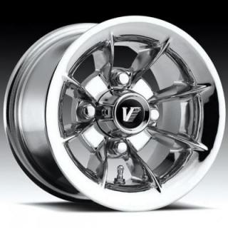 VISION WHEELS  GOLF CAR 107 CHROME RIM