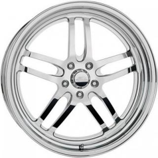 BILLET SPECIALTIES WHEELS  STREET SMART LINE LAUNCH POLISHED RIM