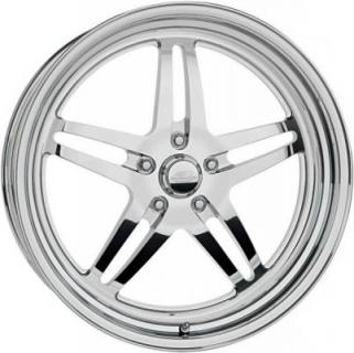 BILLET SPECIALTIES WHEELS  STREET SMART LINE SPLIT SPOKE POLISHED RIM