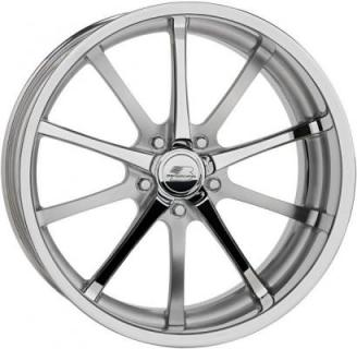 BILLET SPECIALTIES WHEELS  SLC SERIES TURBINE POLISHED SATIN RIM