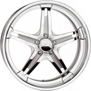 BILLET SPECIALTIES WHEELS  SLG SERIES SLG15 POLISHED SATIN RIM