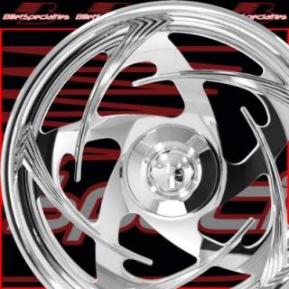 BILLET SPECIALTIES WHEELS  GS SERIES GS53 POLISHED RIM