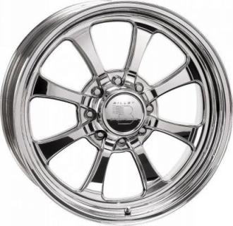 BILLET SPECIALTIES WHEELS  HAULER SERIES OCTANE 8 POLISHED RIM