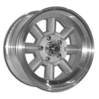 V48 1 PIECE BLASTED CENTER and MACHINED OUTER RIM by VINTAGE WHEEL WORKS