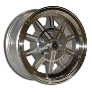 VINTAGE WHEEL WORKS  V50 1 PIECE BLASTED CENTER and MACHINED OUTER RIM