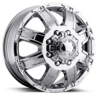 ULTRA WHEELS  GAUNTLET DUALLY 024 CHROME FRONT RIM
