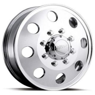 ULTRA WHEELS  DUALLY 002 POLISHED FRONT RIM