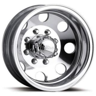 ULTRA WHEELS  DUALLY 002 POLISHED REAR RIM