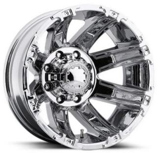 ULTRA WHEELS  GAUNTLET DUALLY 024 CHROME REAR RIM