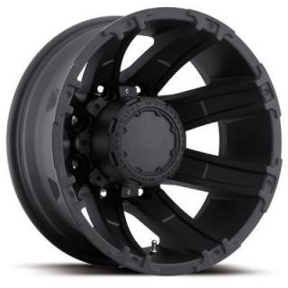 ULTRA WHEELS  GAUNTLET DUALLY 024 MATTE BLACK REAR RIM