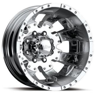 ULTRA WHEELS  GOLIATH DUALLY 023 CHROME REAR RIM
