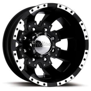 ULTRA WHEELS  GOLIATH DUALLY 023 MATTE BLACK REAR RIM